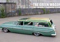 The Green Wagon - 1961 Chevrolet Parkwood